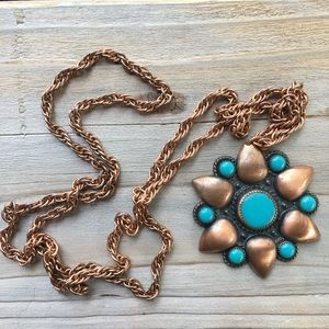 Jewelry - Vintage Copper Chain Necklace